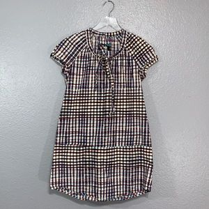 UO Ecote | Plaid Cap Sleeve Tunic Dress M